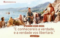 Discurso de Jesus sobre a sua missão Jo 8,31-42