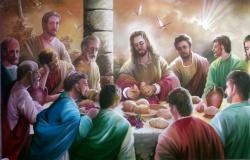 Jesus prediz que Judas o há de trair Mt.26:21; Mc.14:18 e Jo 13,21-33.36-38