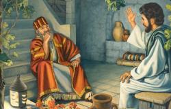 Jesus instrui Nicodemos acerca do novo nascimento Jo 3,1-8