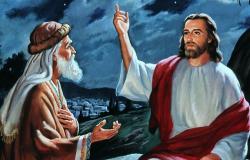 Jesus instrui Nicodemos acerta do novo nascimento  Jo 3,7b-15