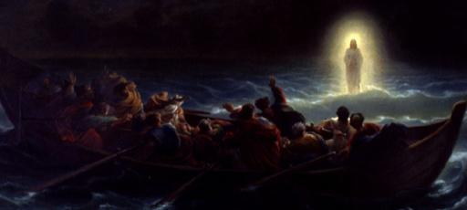 Jesus, andando sobre as águas Jo 6,16-21