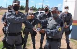 Marcelândia: Policiais militares receberam nesta quarta feira a 'Honraria de Destaque do Biênio'