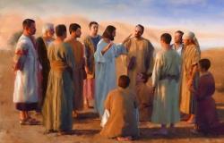 As últimas instruções aos discípulos Jo 15,9-11