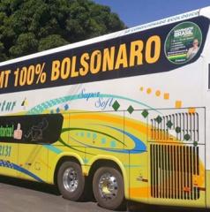 Grupos de Sinop e demais cidades começam viagem a Brasília para reforçar movimento de apoio a Bolsonaro