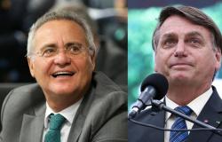 """Bolsonaro dispara contra Renan: """"Quem mata gente não é quem manda dinheiro para estados, é quem desvia o dinheiro dos estados"""""""