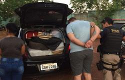Parceria entre Delegacia de Entorpecentes e PRF apreende 560 quilos de maconha