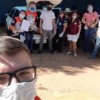 A CUFA Matupá, iniciou a entrega de sextas básicas na terça-feira (12)