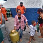 110 foi o número de famílias alcançadas na favela Cidade alta e região.