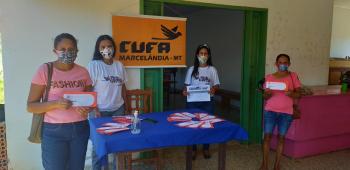 CUFA Marcelândia distribui máscaras, cestas básicas e R$ 240 às famílias do projeto Mães da Favela