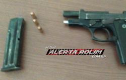 Menor de 16 anos é apreendido armado após fazer assaltos em Nova Brasilândia