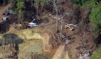 Garimpo ilegal opera em Humaitá no sul do Amazonas