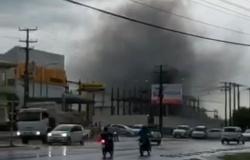 Vídeo mostra incêndio e explosão em subestação da Energisa em Ji-Paraná