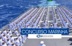 Concurso Marinha tem edital com 750 vagas para Nível Médio. Salario até R$ 2,2 mil; Veja edital de inscrição.