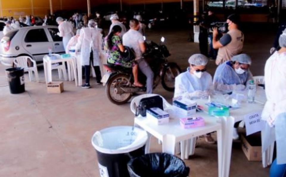 16ª Edição do Drive-Thru encerra com mais de 700 testes realizados na zona sul de Porto Velho
