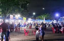 Festa da Covid na noite de Porto Velho