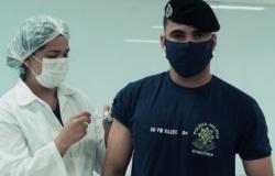 Mais de 400 profissionais da segurança e salvamento são vacinados em Porto Velho