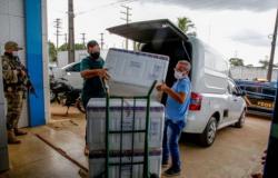 Rondônia recebe nova remessa com mais de 48 mil doses de vacinas contra Covid-19