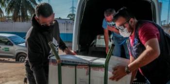RONDÔNIA RECEBE DO GOVERNO FEDERAL MAIS 20 MIL DOSES DE VACINA CONTRA COVID-19