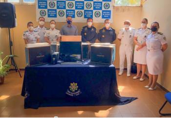 Eyder Brasil entrega notebooks e nobreaks direcionados a PM de Rondônia