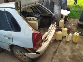 Custando mais de R$ 6 em RO, homens são presos por revenderem gasolina boliviana a R$ 3,80 em Guajará-Mirim