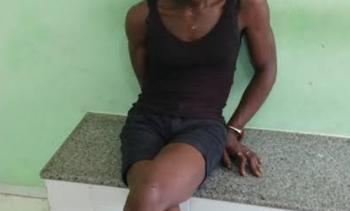 Travesti é flagrado praticando furto em carreta em posto de combustíveis