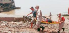 Mulher que pulou da ponte sobre o Rio Madeira sobrevive a queda