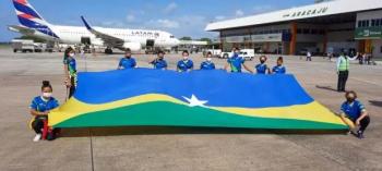 Ginastas rondonienses participam do Campeonato Brasileiro de Ginástica Aeróbica, em Sergipe
