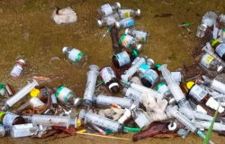 Denúncia aponta suspeita de descarte irregular de lixo hospitalar em aterro de consórcio intermunicipal (CISAN) em Ariquemes