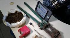 Suspeitos que planejavam vender drogas em Ouro Preto do Oeste são presos na rodoviária de Ji-Paraná