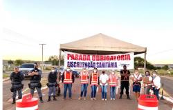 Arenápolis apresenta dois novos casos suspeitos de Coronavírus e retorna as barreiras sanitária