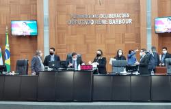 Botelho é reeleito presidente da Assembleia; Janaina é vice e Russi 1º secretário