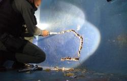 Agentes encontram buraco em parede de cela que seria usado para fuga de quase 30 presos em MT