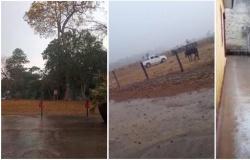 Cuiabá e outros municípios de MT registram chuva após meses de seca