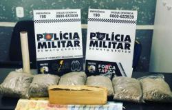 Polícia apreende 2,5 kg de 'supermaconha' avaliada aproximadamente R$ 40 mil