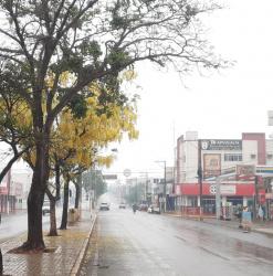 Tangaraenses comemoram primeira chuva após 4 meses de estiagem