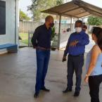 Ismael Crispin prestigia entrega de salas de aula em São Miguel do Guaporé