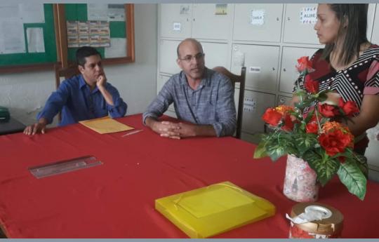 Ismael Crispin garante construção de salas de aula em escola de São Miguel do Guaporé