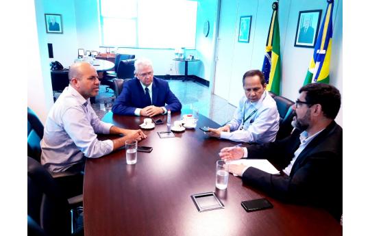 Ismael Crispin vai ao governador pedir manutenção da RO-481, que liga Migrantinopolis a São Miguel do Guaporé