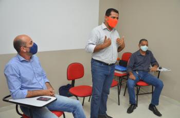Deputado Ismael Crispin declara apoio a Tiziu Jidalias, pré-candidato a prefeito de Ariquemes