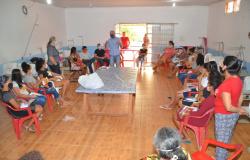 Ismael Crispin visita projeto no Garimpo Bom Futuro e garante investimentos na capacitação dos jovens
