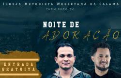 Cantor gospel Davi Sacer estará na Igreja Wesleyana de Porto Velho no próximo dia 15
