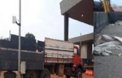 Caminhão com 6 toneladas de adubo é recuperado e 5 são presos