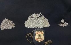 PF cumpre mandados em MT em ação contra extração ilegal de diamantes
