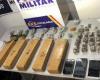 Traficante é preso pela Polícia Militar com maconha e cocaína em casa abandonada