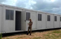 Justiça faz perícia em containers usados como salas de aula em MT