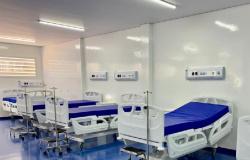 Obra do Hospital Regional de Sorriso avança e enfermarias já começam a ser mobiliadas