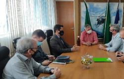 Dirigentes do Sicredi vão a Sesp agradecer empenho no combate ao Novo Cangaço
