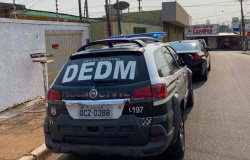 Homem é preso por ameaçar ex-mulher em Cuiabá e mandar e-mail dizendo que vai matar atual namorado dela