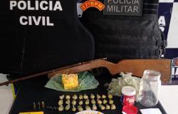PM e PJC prendem casal com droga e anotações do tráfico em Cáceres