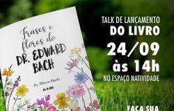 "Márcia Rissato lança o livro ""Frases e Flores do Dr Edward Bach"" nesta quinta-feira"